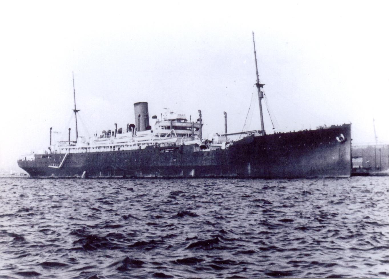 Британский конвойный корабль «Джервис-Бэй»
