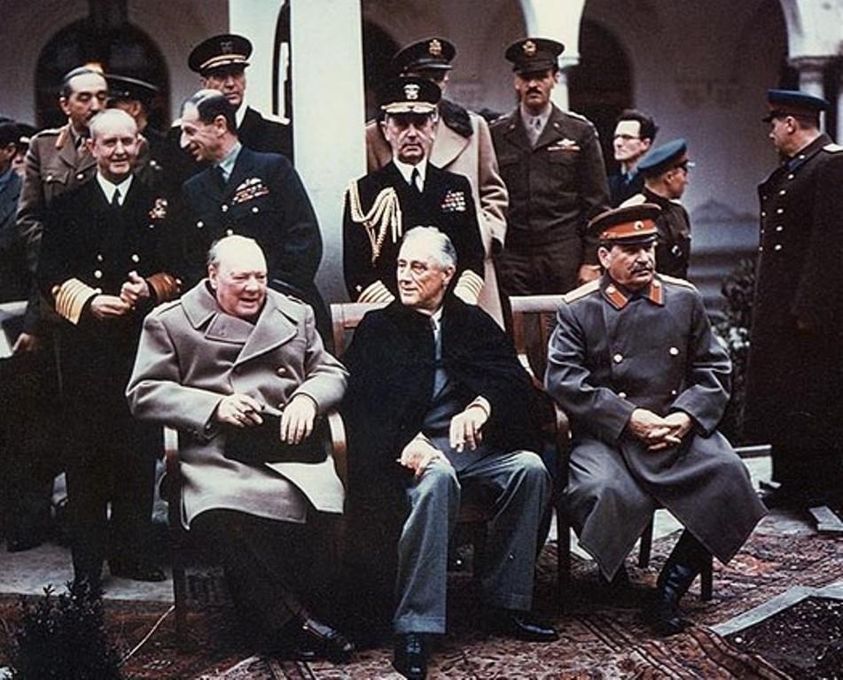 Крымская (Ялтинская) конференция (4—11 февраля 1945 г.)