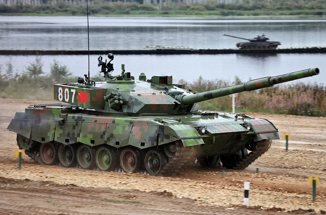 """Основной боевой танк Китая """"Type 96"""""""