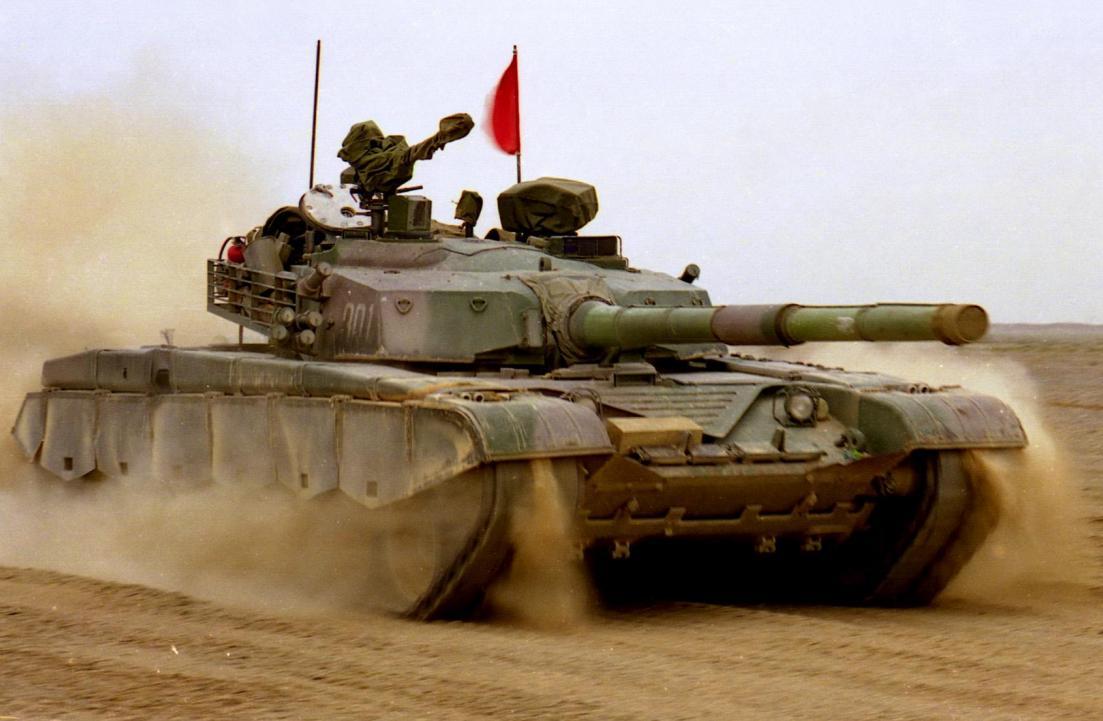 """Основной боевой танк Китая """"Type 98"""""""