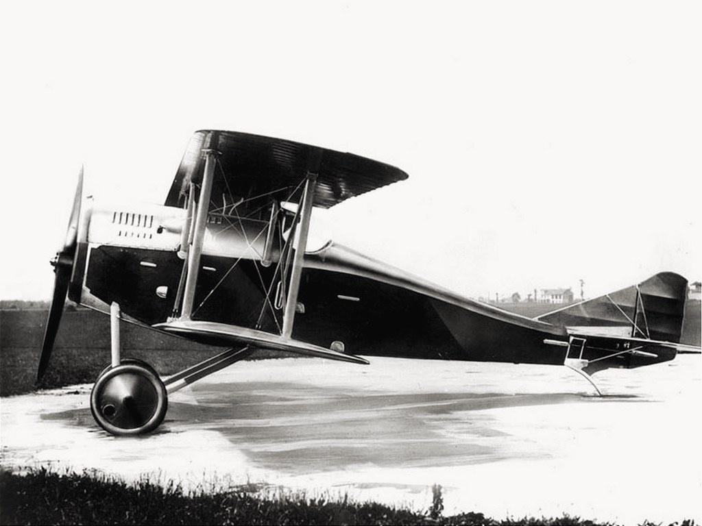 """Итальянский истребитель Ansaldo A.1 """"Balilla"""""""