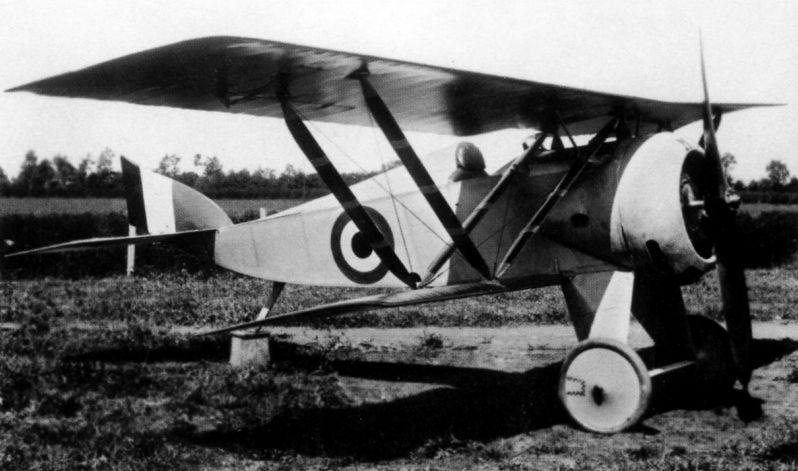 Итальянский истребитель Macchi М.14