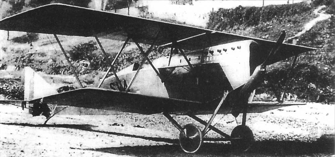 Итальянский истребитель-разведчик Ansaldo S.V.A.3
