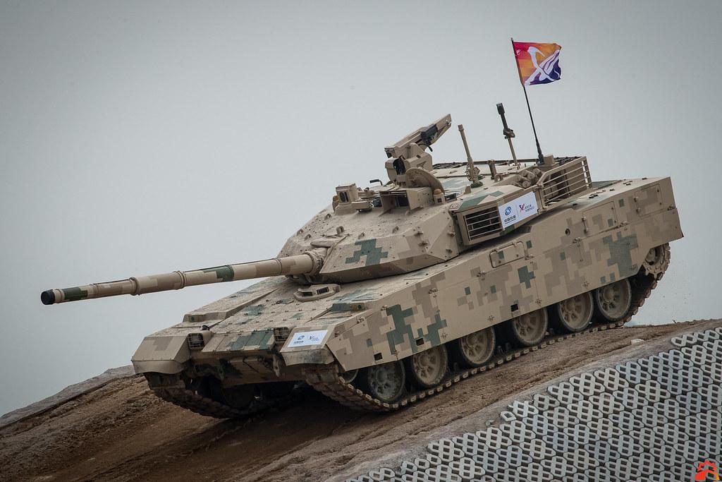 Основной боевой танк Китая MBT-3000