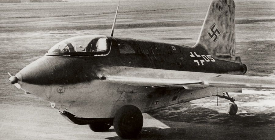 """Немецкий истребитель Messerschmitt Me 163 """"Komet"""""""