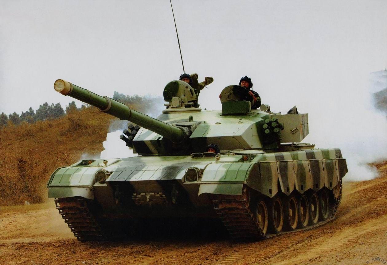"""Основной боевой танк Китая """"Туре 90-II"""""""