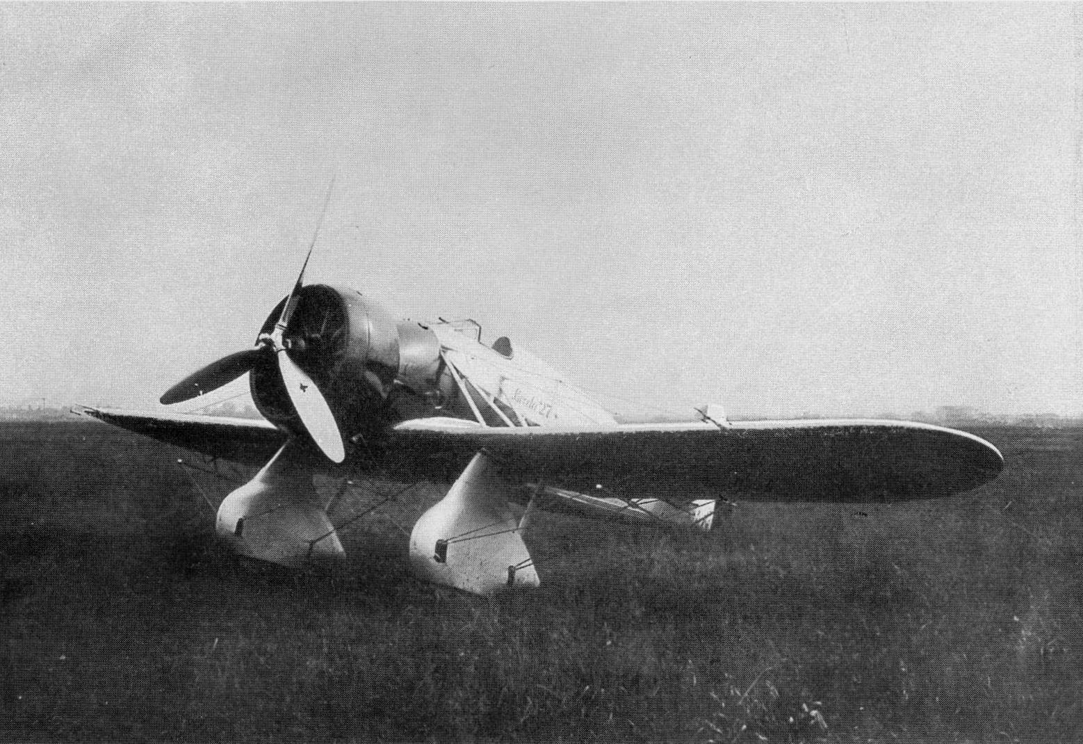Итальянский истребитель Breda 27