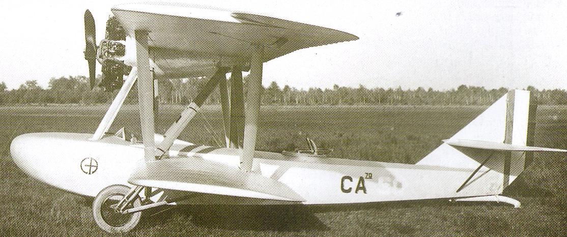 Итальянский гидроистребитель Caproni Ca.70