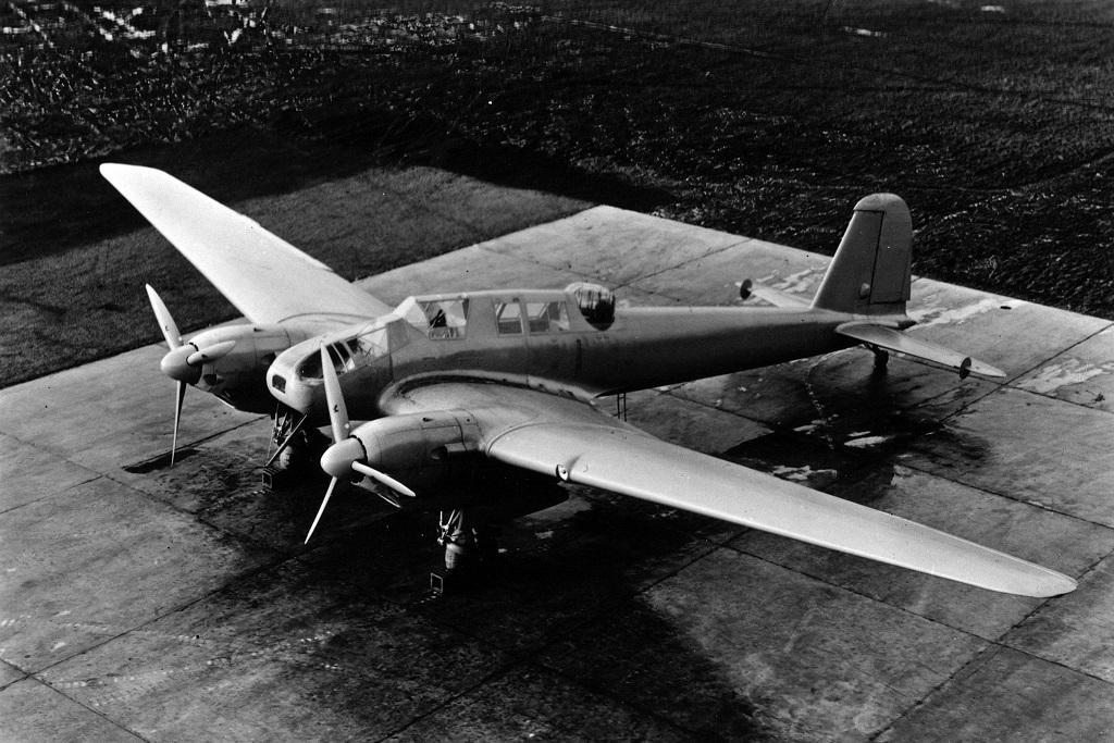 Немецкий истребитель Focke-Wulf Fw 57