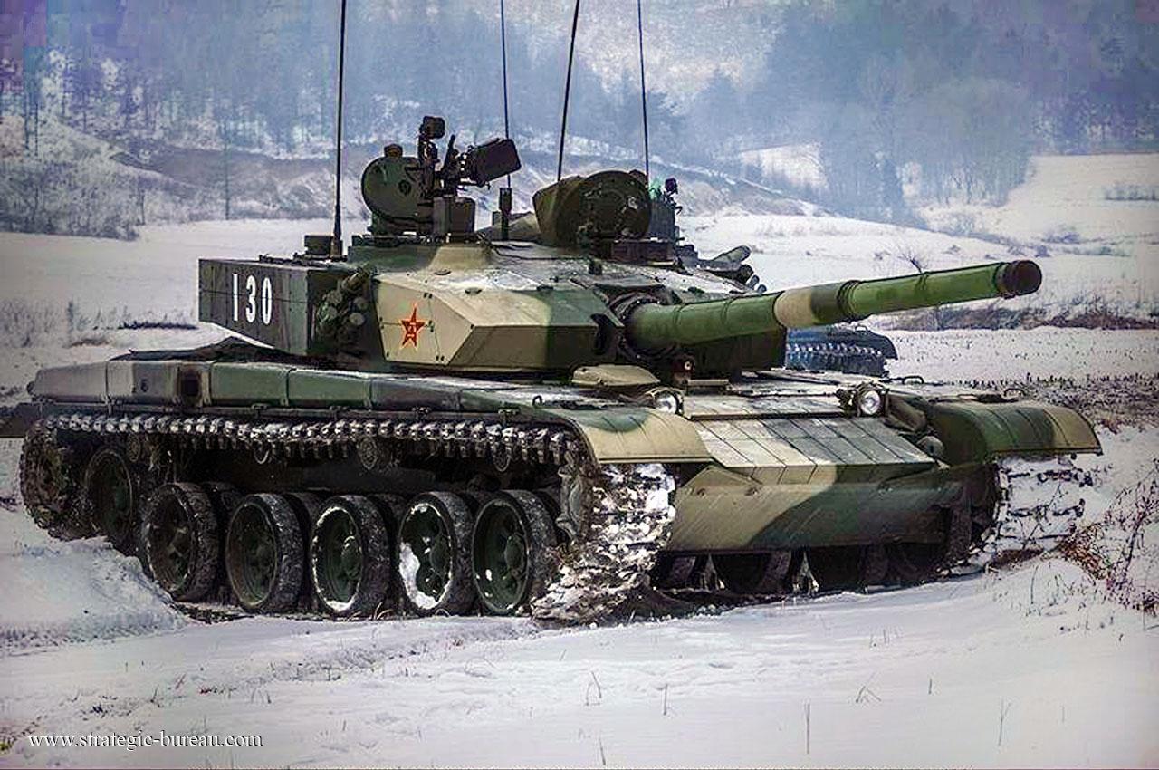 """Основной боевой танк Китая """"Type 99"""""""
