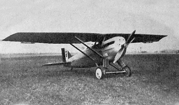 Итальянский истребитель Ansaldo A.C.4
