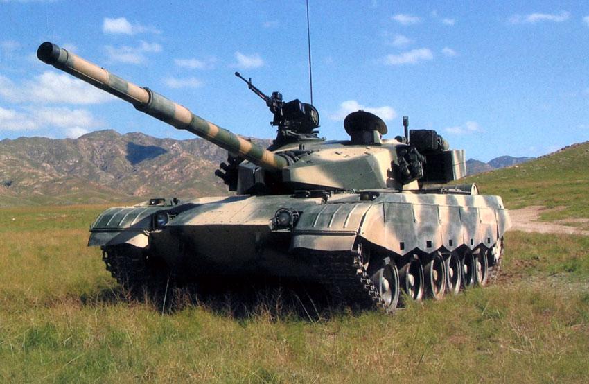 """Основной боевой танк Китая """"Туре 85"""""""