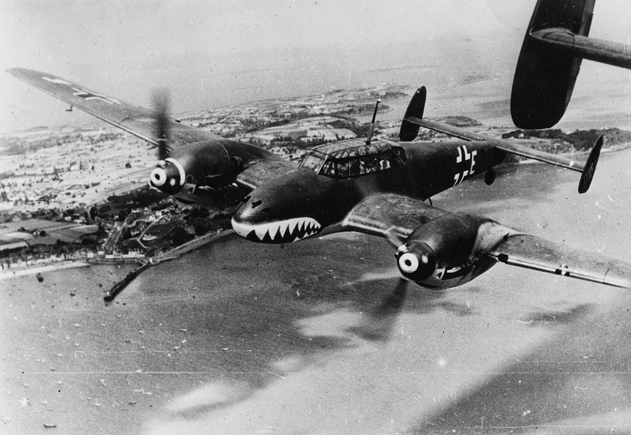 Германский истребитель Messerschmitt Bf 110