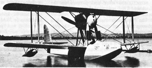 Итальянский гидроистребитель Macchi M.26