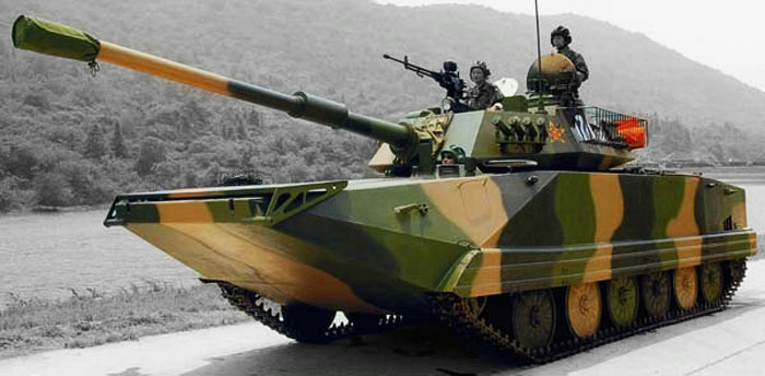 "Китайский лёгкий плавающий танк ""Type 99"""