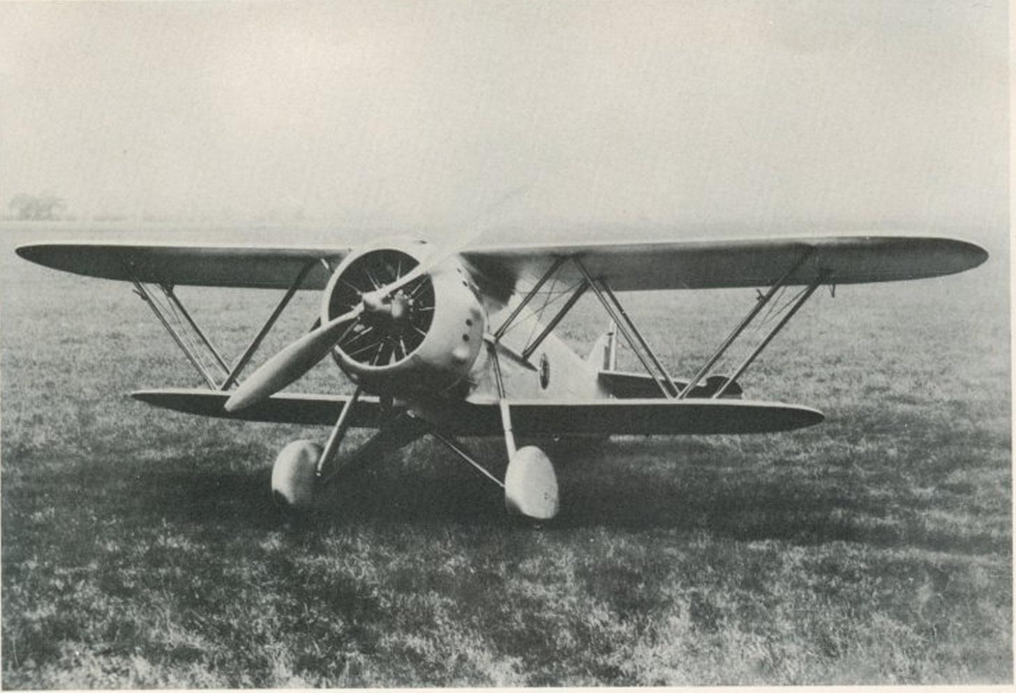 Итальянский истребитель Fiat CR.40