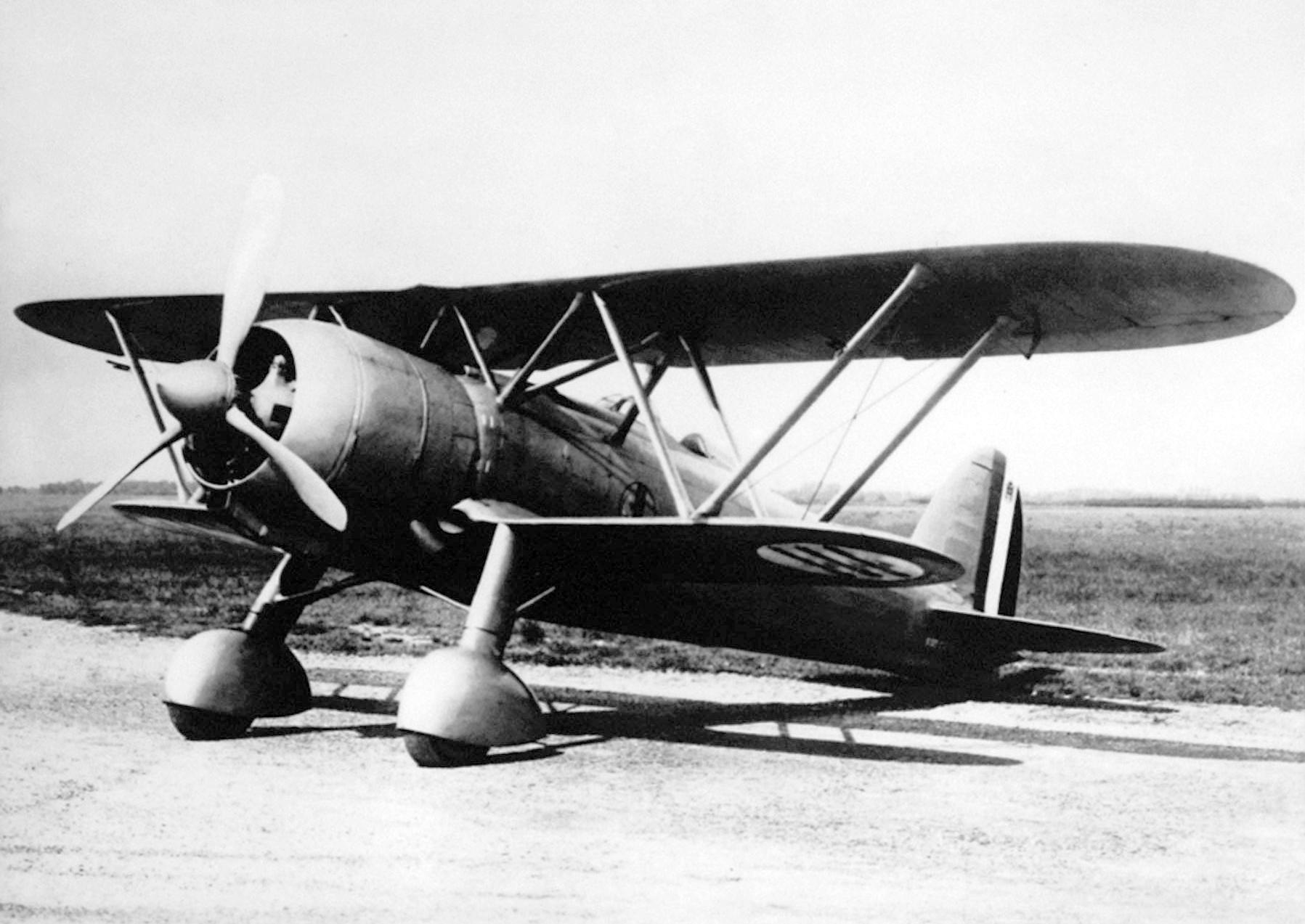 """Итальянский истребитель Fiat CR.42 """"Falco"""""""