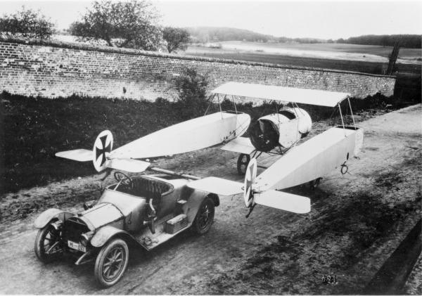 Германский истребитель Fokker K.I