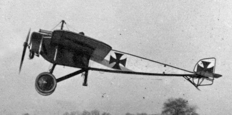 Германские истребители Pfalz Eindecker