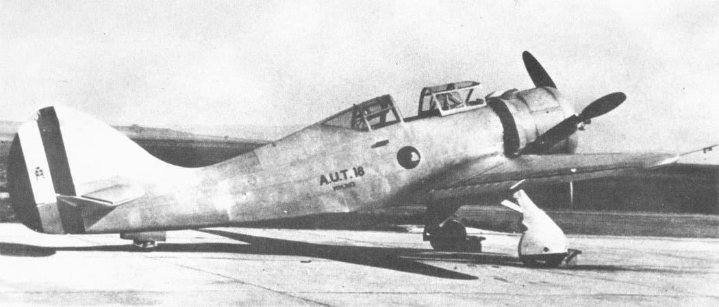 Итальянский истребитель A.U.T.18