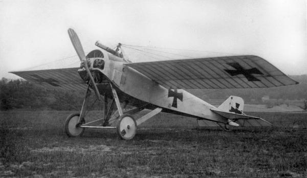Германский истребитель LVG E.I