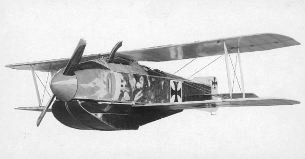 Германский поплавковый истребитель Gotha WD.10