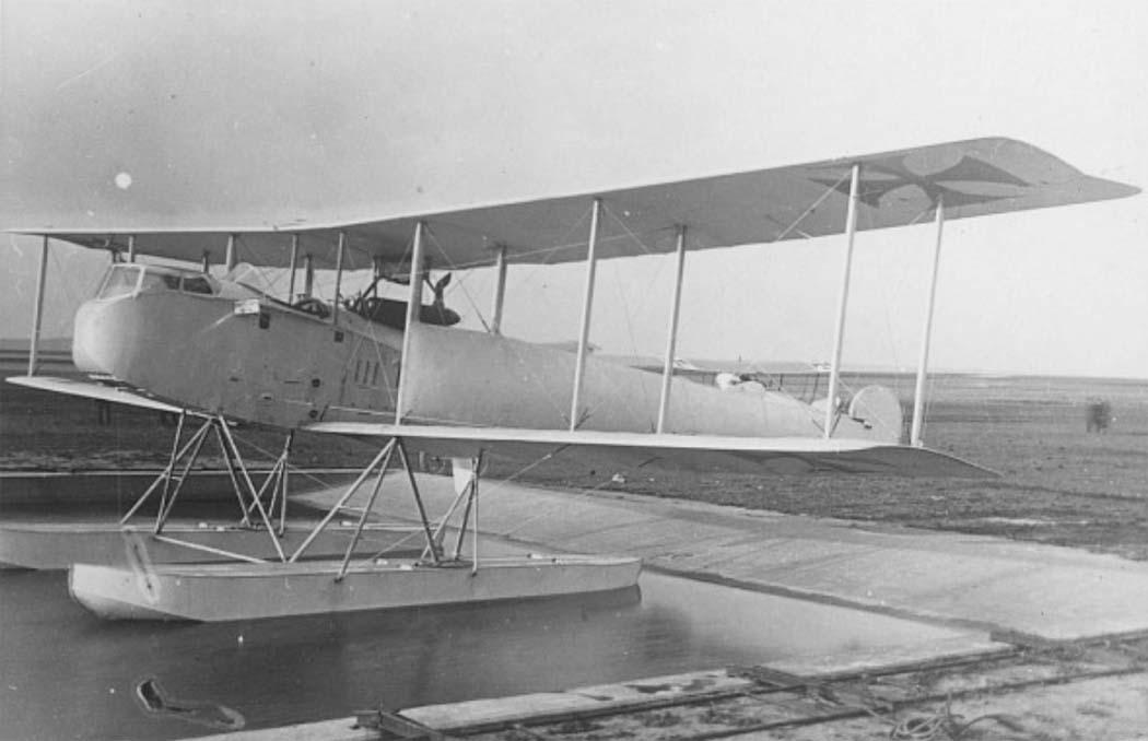 Германский истребитель WD.3