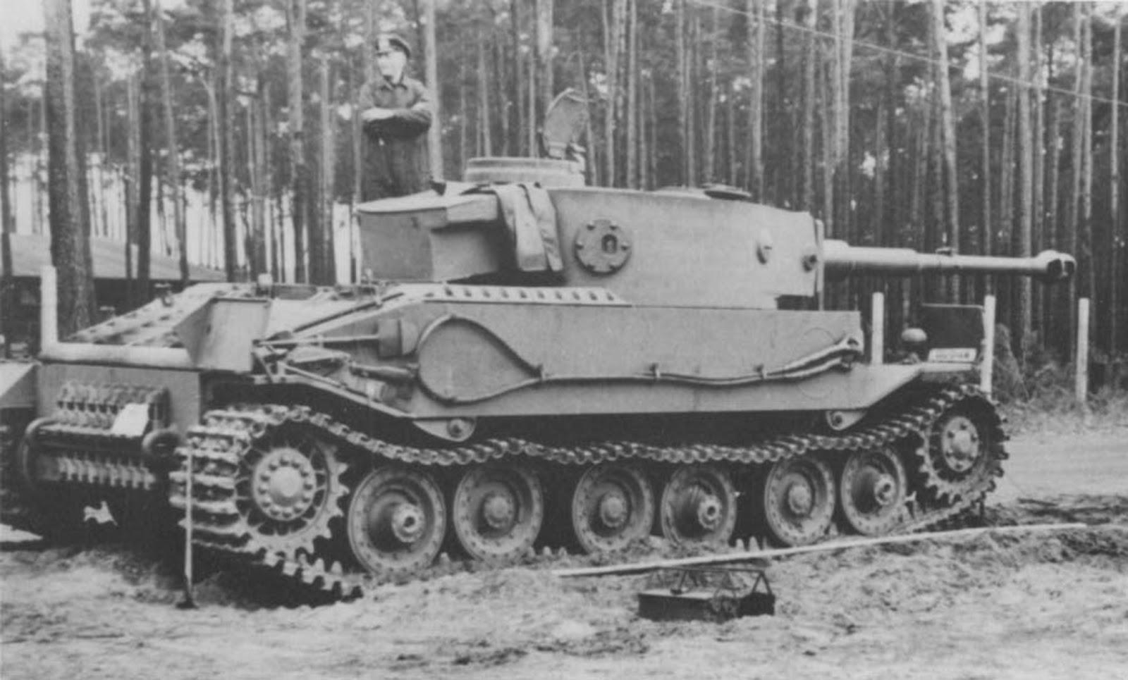 Тяжелый танк Pz.Kpfw. VI Tiger (P)