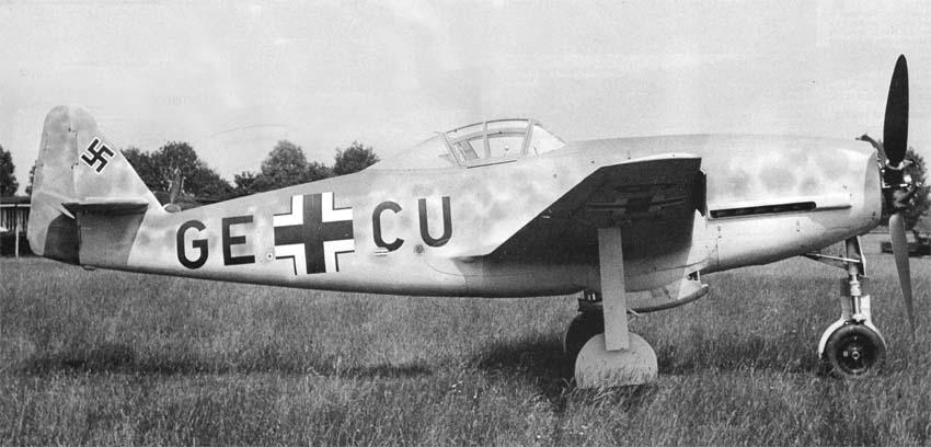 Немецкий истребитель Messerschmitt Me 309