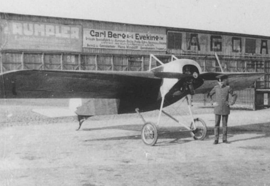 Германский истребитель NFW E.I