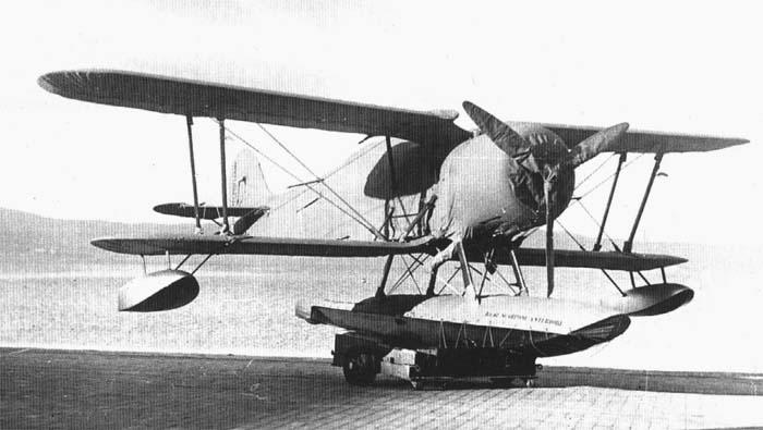 Катапультный поплавковый истребитель I.M.A.M. Ro.44
