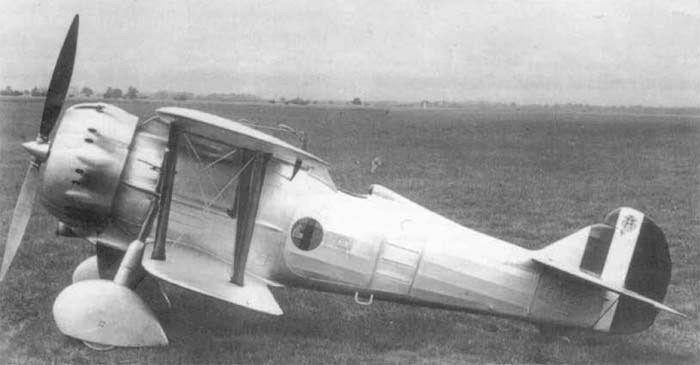 Итальянский истребитель Fiat CR.41