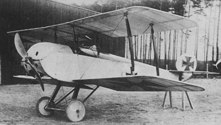 Германские истребители Schutte-Lanz D.I, D.2