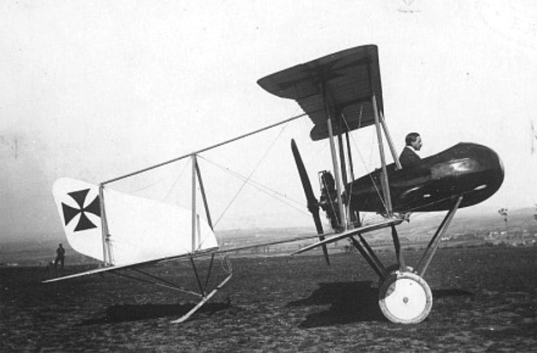 Германский истребитель Schwade Kampfeinsitzer NR.1
