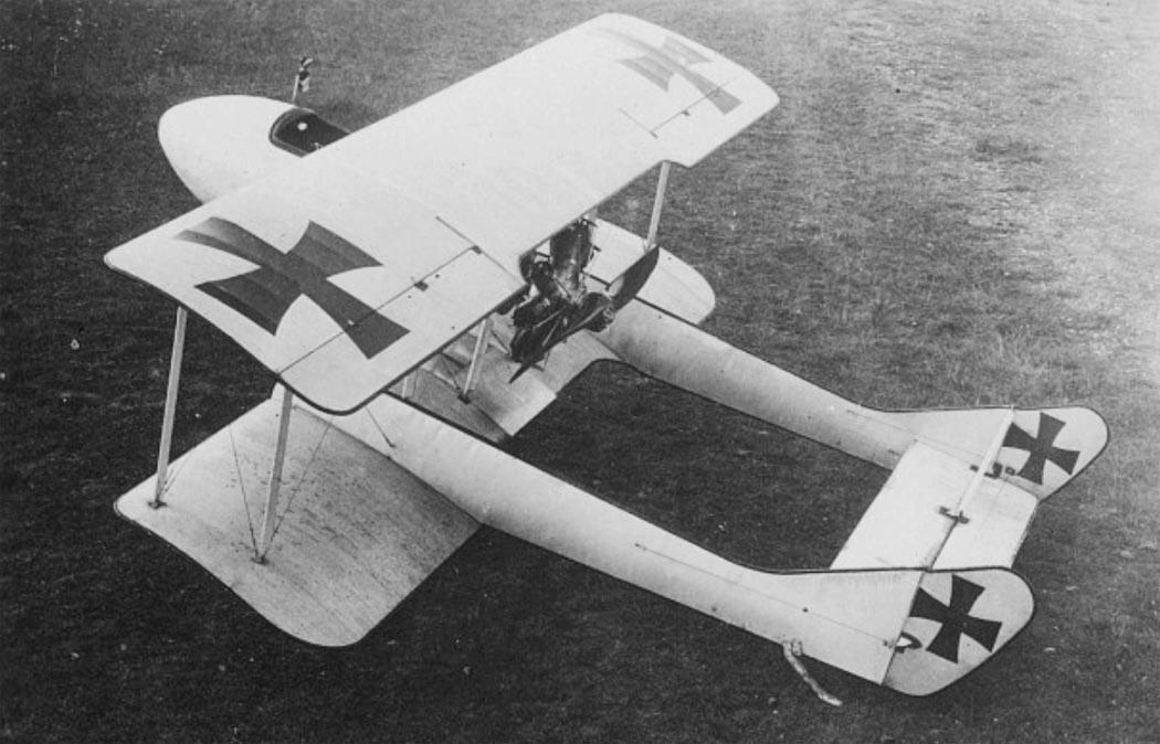 Германский истребитель Schwade Kampfeinsitzer NR.2