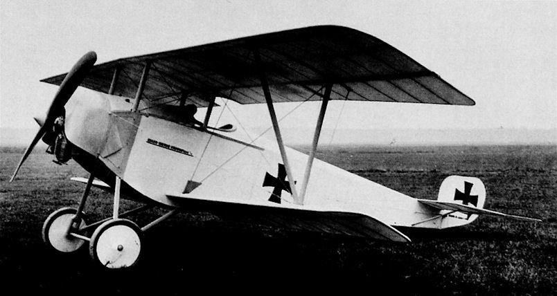 Германский истребитель Euler D.II