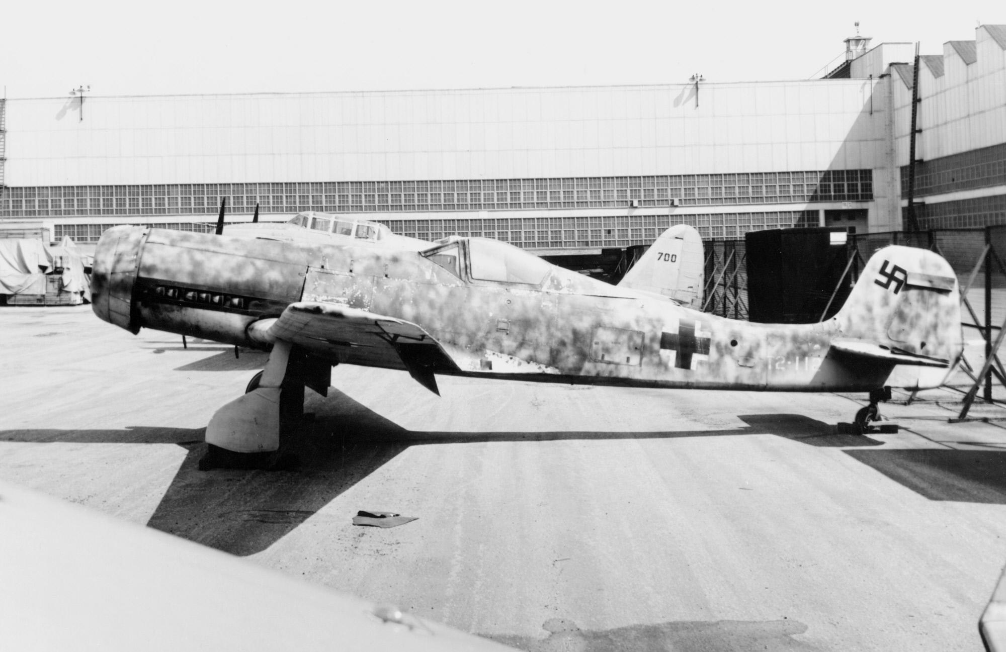 Немецкий истребитель Focke-Wulf Та 152