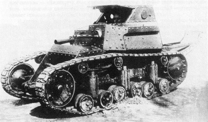 Танкетка Т-17 «Лилипут»