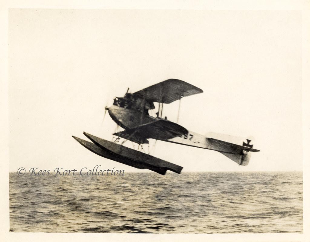 Германский истребитель Friedrichshafen FF.43