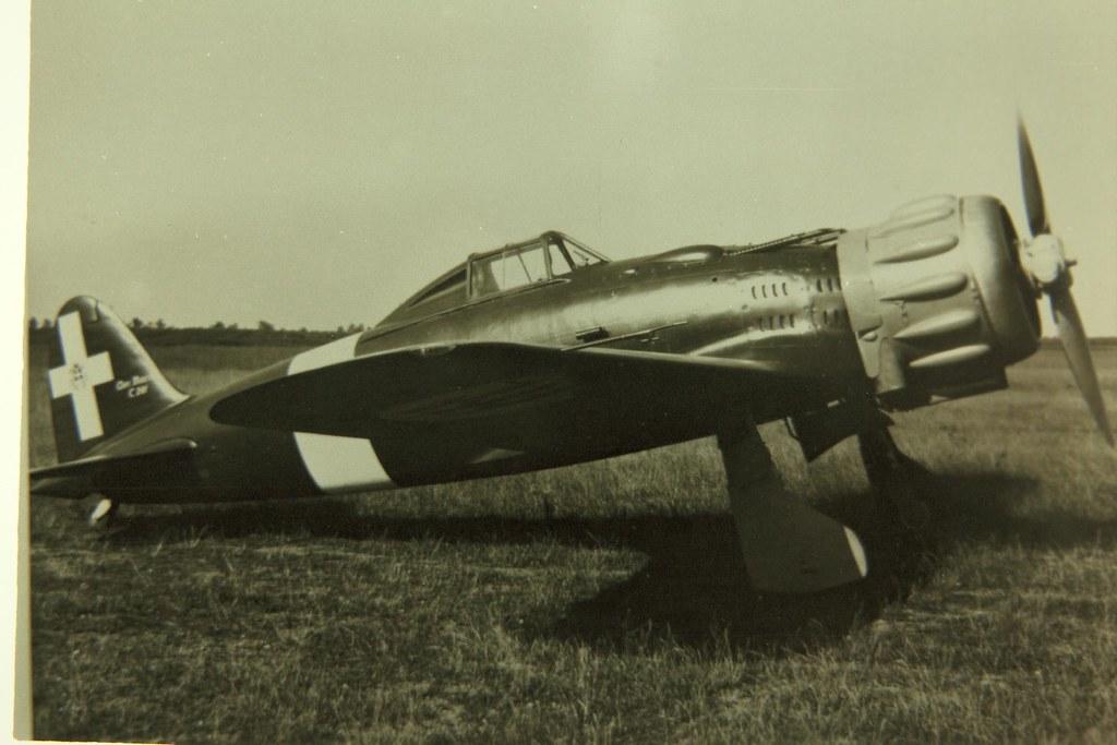 Итальянский истребитель Macchi MС.201