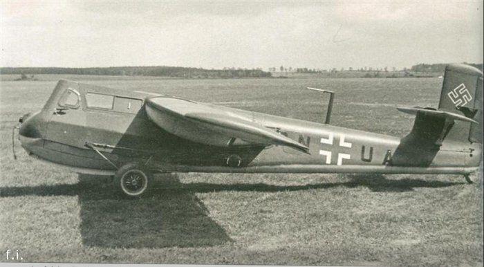 Немецкий планёр-истребитель Blohm und Voss BV 40