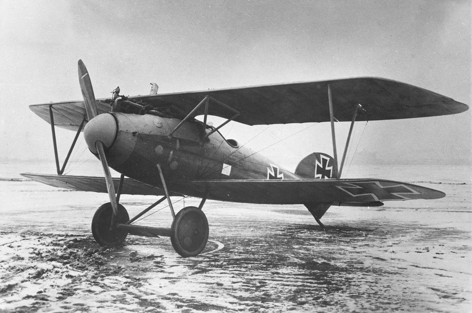 Германский истребитель Albatros D.III
