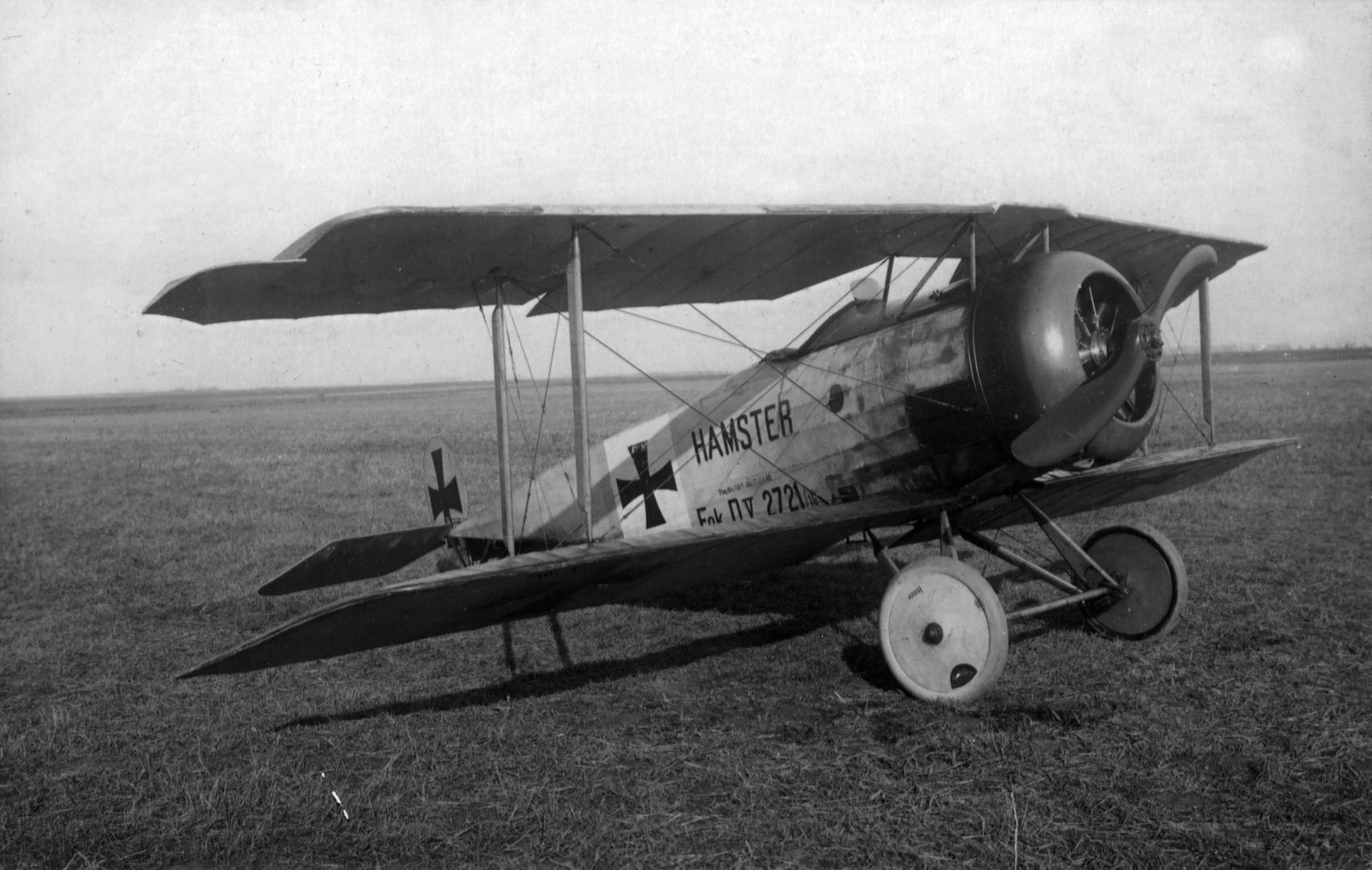 Германский истребитель Fokker D.V