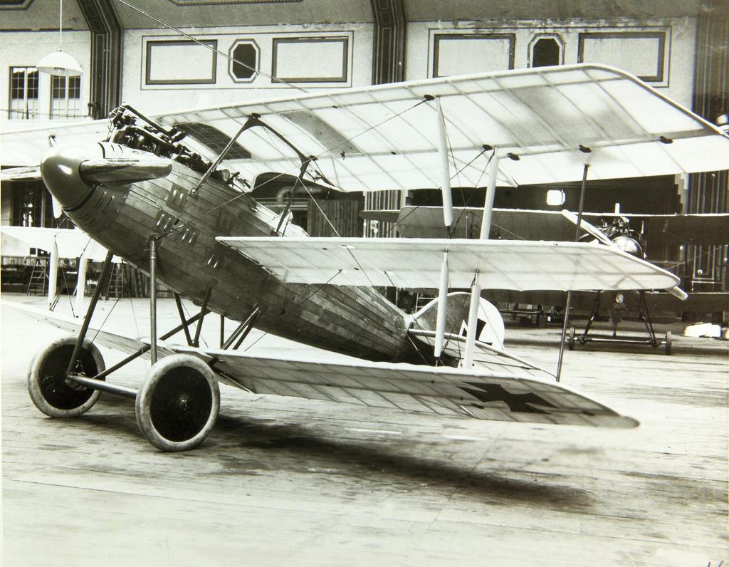 Германский истребитель Roland D.IV