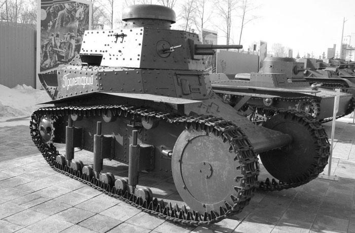 Лёгкий танк МС-1