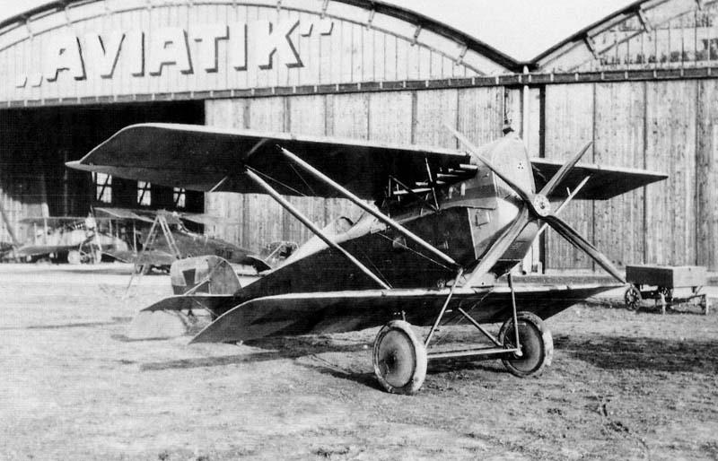 Германский истребитель Aviatik D.II