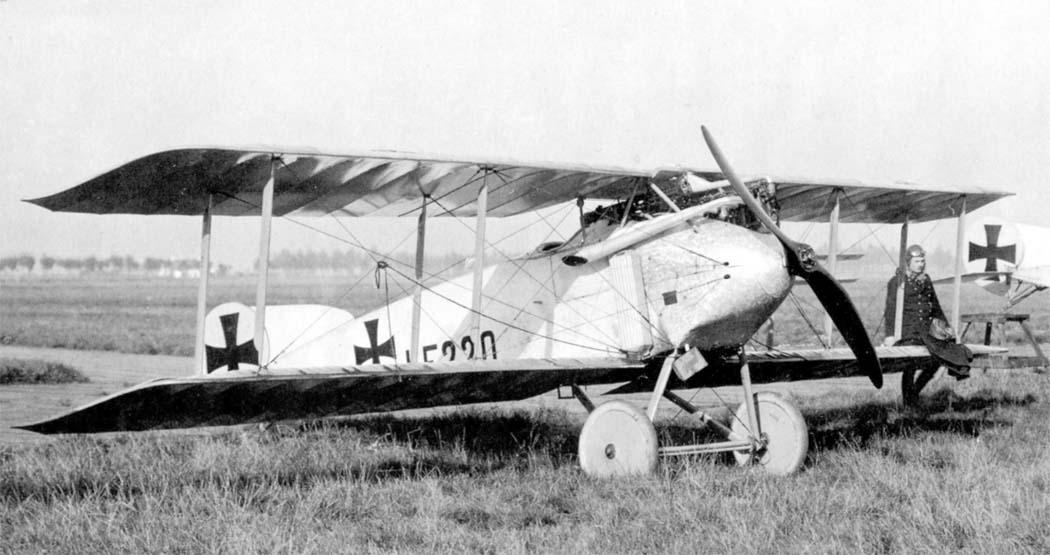 Германский истребитель Fokker D.I