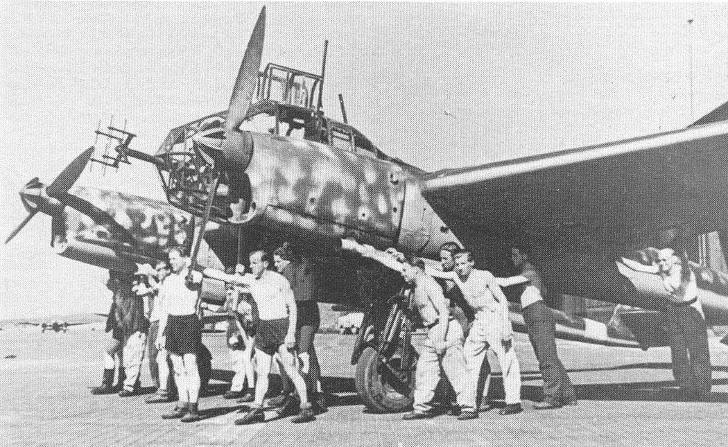 """Немецкий истребитель Focke-Wulf Fw 189 """"Behelfsnachtjoger"""""""