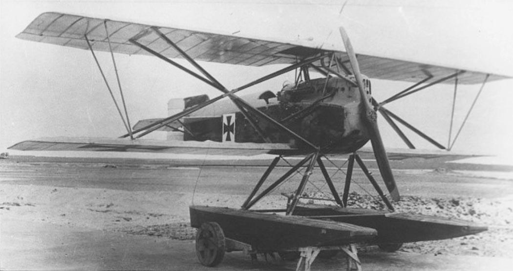 Германский истребитель KDW
