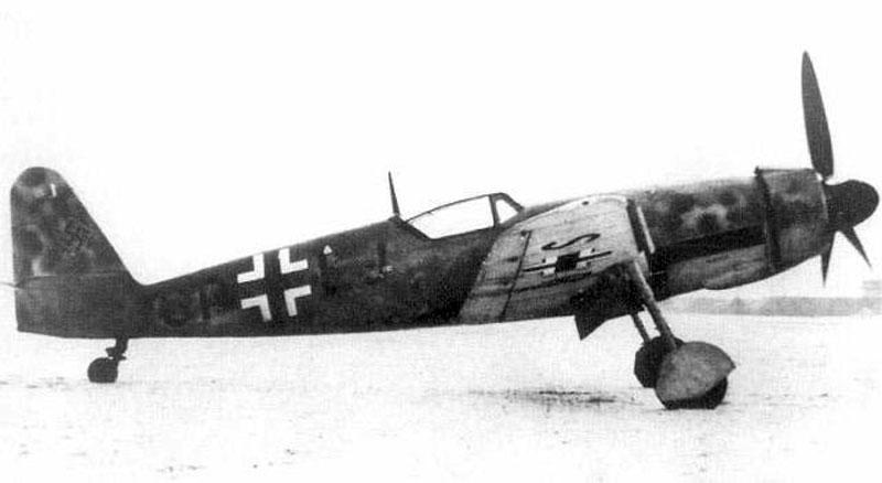 Немецкий истребитель Messerschmitt Me 209/II